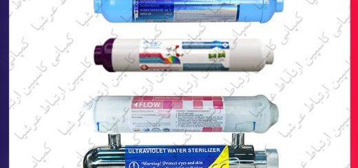 انواع فیلترهای آپشنال در دستگاه های تصفیه آب خانگی پیور واتر